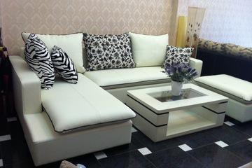 Nội thất cao cấp LuxuryHome   Bộ sofa góc da mã LH LCS27