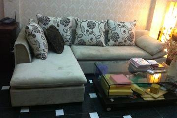 Nội thất cao cấp LuxuryHome   Bộ sofa góc nỉ mã LH FCS52B