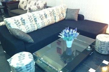 Nội thất cao cấp LuxuryHome   Bộ sofa góc nỉ mã LH FCS54