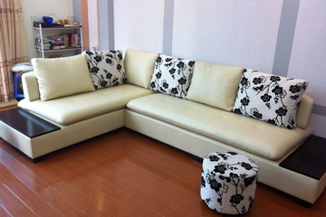 Nội thất cao cấp Luxury Home   Bộ sofa góc da mã LH LCS19