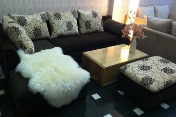 Nội thất cao cấp Luxury Home   Bộ sofa góc nỉ mã LH FCS52A