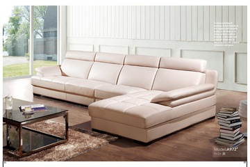 Sofa góc da giá gốc chỉ có ở Nội thất Đại Hoàng Gia