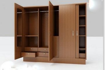 tủ áo gỗ công nghiệp hiện đại giá chỉ 2,2 triệu