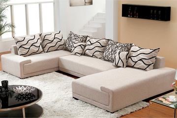 Nội thất cao cấp Luxury Home   Bộ sofa góc nỉ mã GD2075