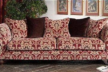 Luxury Home    Sofa phòng khách kiểu giáng châu Âu cổ điển