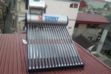 SUNNY 18 phi 58 210 lít ống titan
