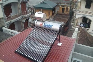 SUNNY 24 phi 58  260 lít ống titan