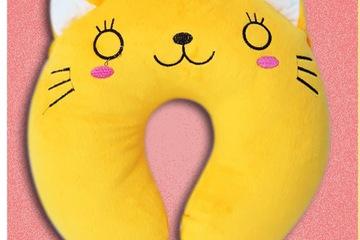 gối cổ mèo vàng