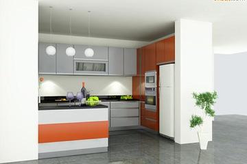 Tủ bếp cao cấp Laminate
