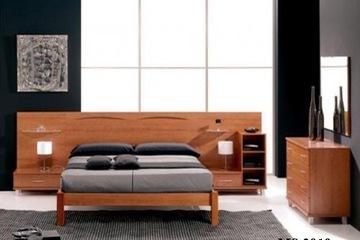 Giường gỗ tự nhiên Ash