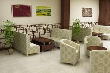 ghế sofa nhà hàng, cafe