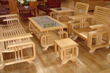sofa gỗ gia rẻ 13.500.000