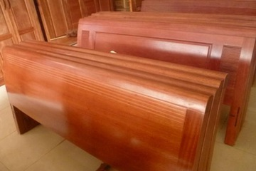giường gỗ 1,6m  38 minh khai HBT   38 minh khai HBT