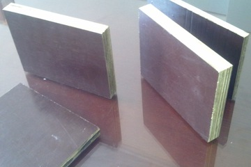 plywood ván ép xây dựng phủ film hãy phủ phim 15mm, 18mm, 12