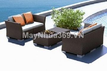 Bàn ghế sofa mây nhựa LT 252