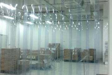 Rèm ngăn lạnh điều hòa PVC, màng ngăn PVC ngăn bụi, mùi, côn trùng
