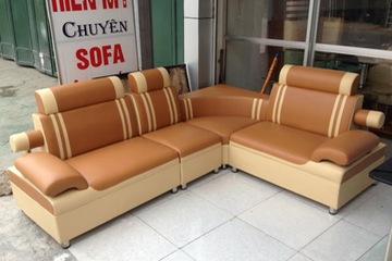 R03 Sofa góc  kích thước 1,7mX2,2m  giá: 3.450.000/bộ
