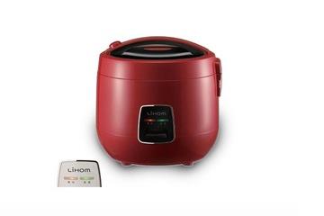 Nồi cơm điện cơ Lihom 1.8L  650W    Màu đỏ
