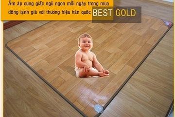 Thảm điện Hàn Quốc Best Gold  chiếu điện bốn mùa