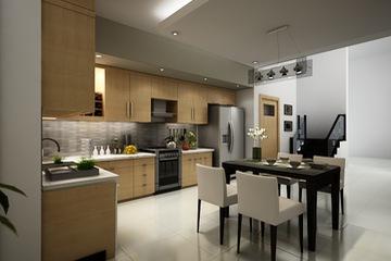 MSP : Tủ bếp phong cách trẻ