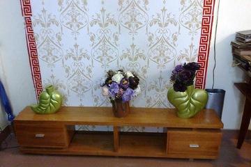 Chuyên sản xuất kệ ti vi , bàn trà gỗ tự nhiên. KTV   M01