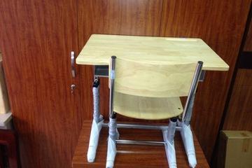 Bàn học sinh xuân hoà gỗ tự nhiên ma 002