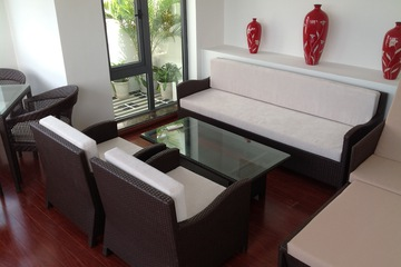 Sofa mây nhựa chất lượng hàng đầu Việt Nam LT 272