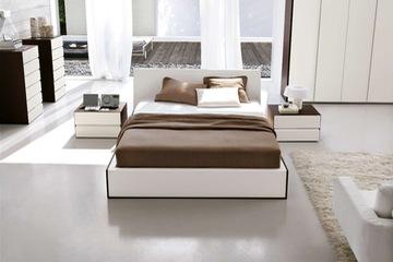 MSP 002. Giường ngủ gỗ veneer sồi đẹp mẫu 2014