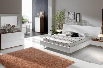 MSP 069: Giường ngủ gỗ veneer sồi đẹp mẫu 2014