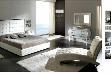 MSP 063: Giường ngủ gỗ veneer sồi đẹp mẫu 2014