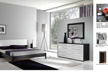 MSP 061: Giường ngủ gỗ veneer sồi đẹp mẫu 2014