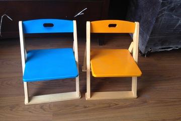 Ghế xếp trẻ em nhiều màu sắc