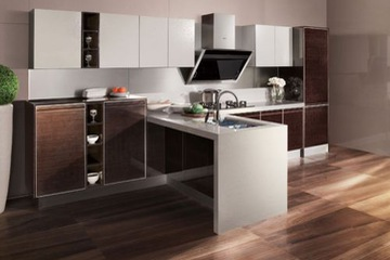 MSP 06 Tủ bếp laminate cao cấp