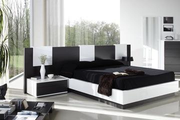 MSP 03 giường ngủ gỗ verner sồi