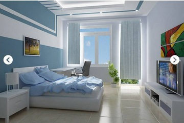Bộ phòng ngủ gỗ sồi hiện đại Mộc Tín