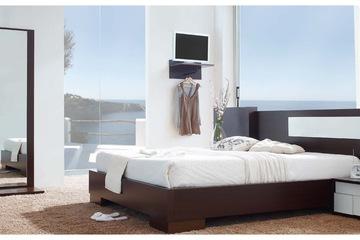 MSP 113 giường ngủ gỗ tự nhiên sồi nga