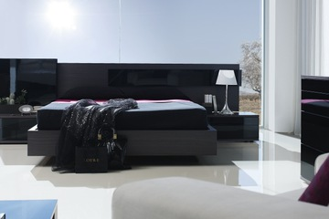MSP 114 giường ngủ gỗ tự nhiên sồi nga