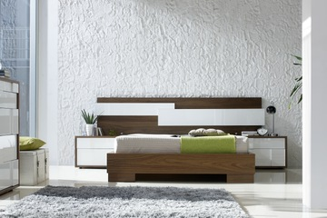 MSP 118 giường ngủ gỗ tự nhiên sồi nga