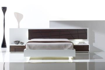 MSP 115 giường ngủ gỗ tự nhiên sồi nga