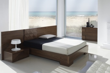 MSP 119 giường ngủ gỗ tự nhiên sồi nga