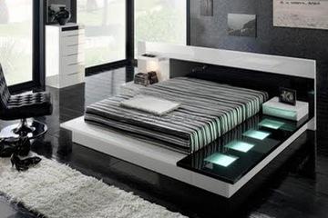 MSP 120 giường ngủ gỗ tự nhiên sồi nga
