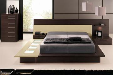 Giường ngủ kiểu nhật, nội thất nhà đẹp, thiết kế hiện đại, sang trọng