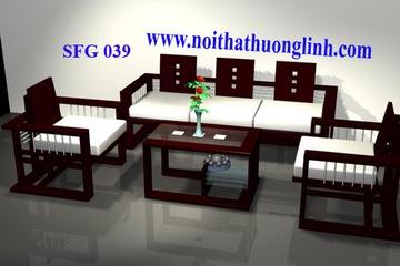 sofa gỗ   nệm cao cấp