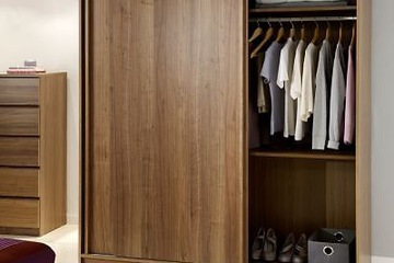 MSP 303 Tủ áo gỗ verneer sồi tự nhiên