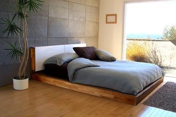Giường ngủ kiểu nhật, giá rẻ, màu sắc tự chọn