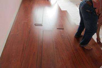 Thi công sàn gỗ đẹp giá bình dân