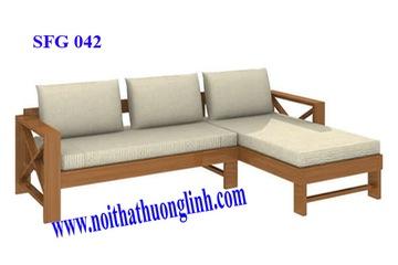 sofa gỗ  sồi  cao cấp. 10.500.000 Hương Linh Nội Thất