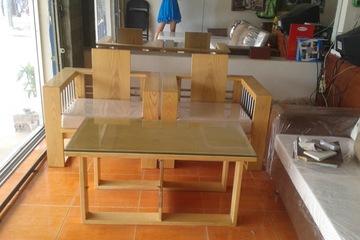 sofa gỗ 7.500.000 Hương Linh Nội Thất