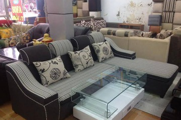 Sofa góc nỉ. MSP 03