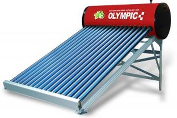Máy nước nóng năng lượng mặt trời OLYMPIC titan ống dầu 160L